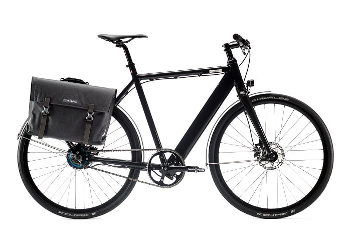 Coboc SEVEN Vesterbro - electric bike with panniers for eco urban cycling