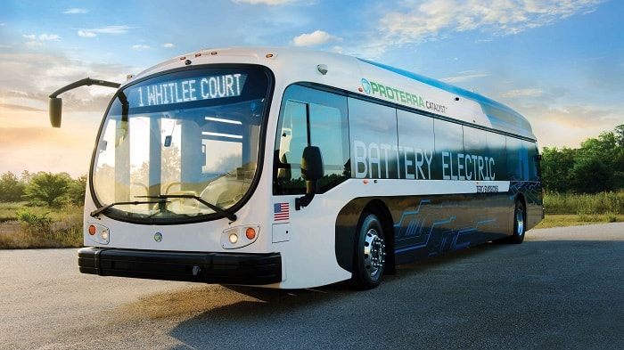Proterra electric buses - Catalyst E2 - Green motoring and urban transport
