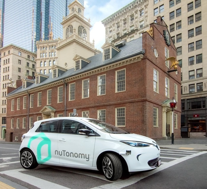 mit startup nutonomy - self-driving cars in boston usa - eco urban transport