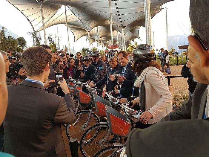 medina bike-sharing - marrakech - launch - cop 22 - eco urban cycling