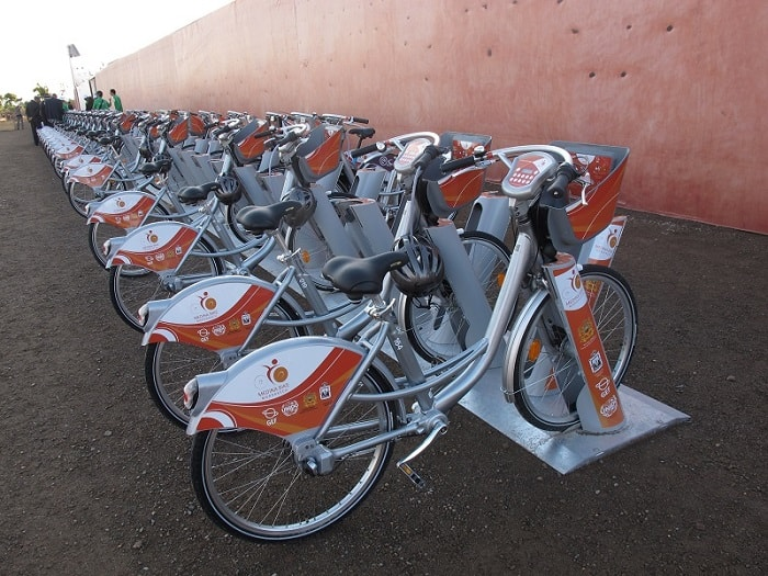 rental station medina bike-sharing - marrakech - eco urban cycling