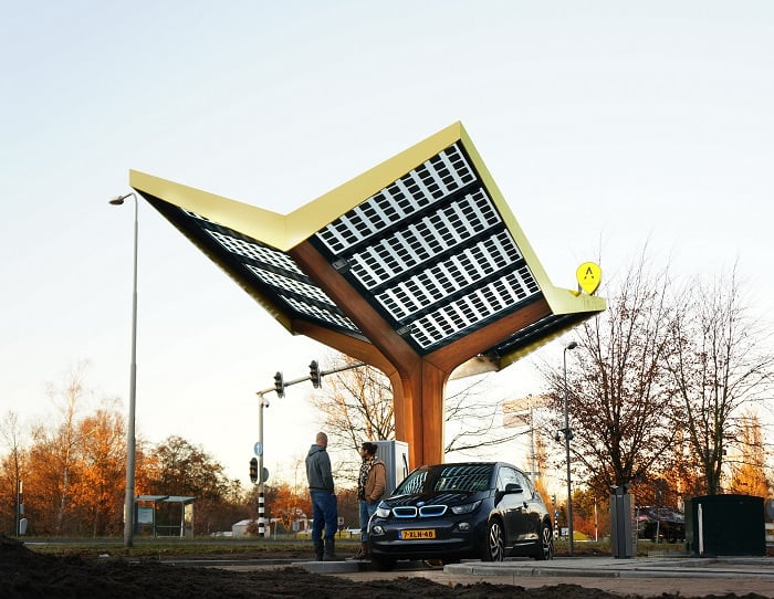 Fastned Station ten Bosch - eco urban motoring
