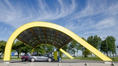 NETHERLANDS - FIRST URBAN FAST-CHARGING STATION FROM FASTNED POWERED BY RENEWABLES
