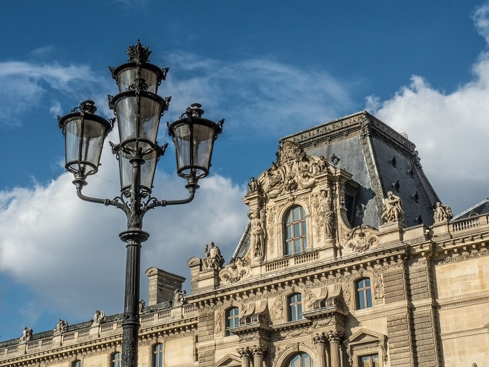 Louvre Paris and Modern LED Street Lighting - eco urban lighting