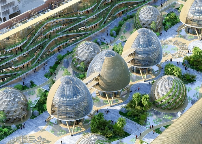 TOUR ET TAXIS energy plus concept from Vincent Callebaut