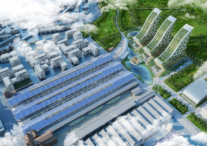 TOUR ET TAXIS green houses from Vincent Callebaut