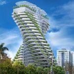 Tao Zhu Yin Yuan Tower - vincent callebaut - eco urban green building