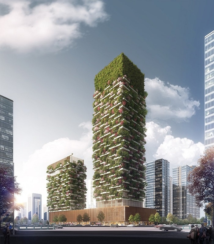 Vertical Forest by Stefano Boeri in China - eco urban green building
