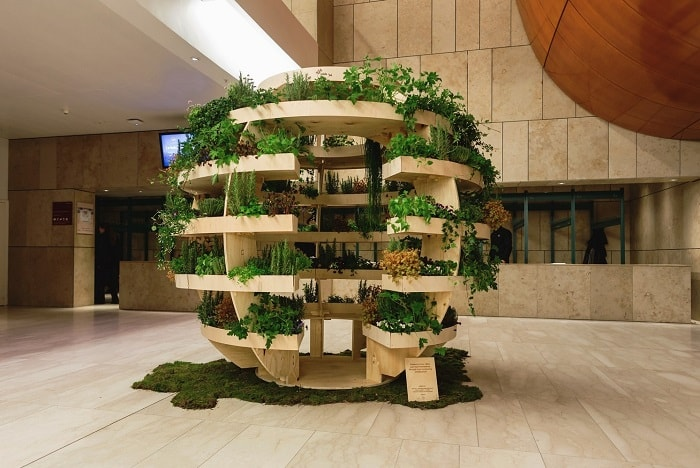 the growroom presentation from space 10 with architects Sine Lindholm and Mads-Ulrik-Husum