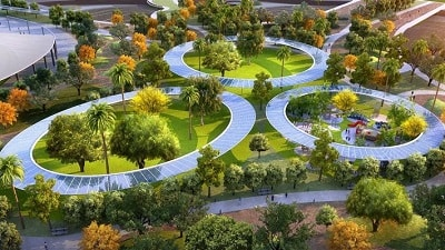Dubai's Largest Public Park Promotes Urban Ecology and Versatile Recreation Facilities