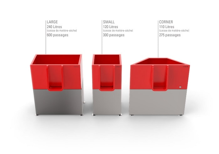 urinal innovation - uritrottoir - sizes