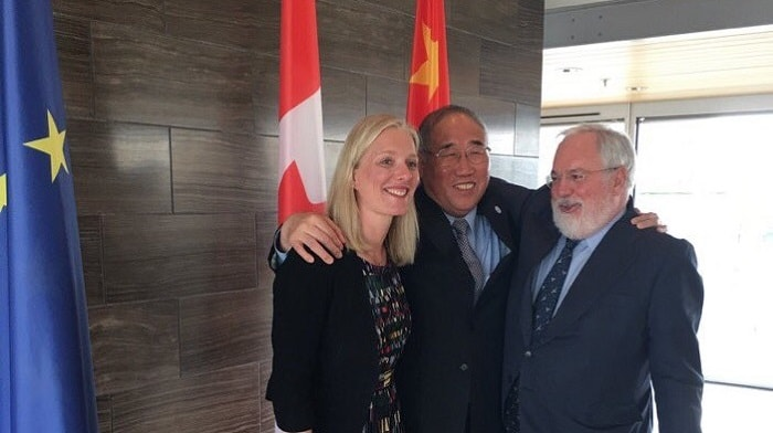 Fight Climate Change - Canada, China, EU - Without Trump