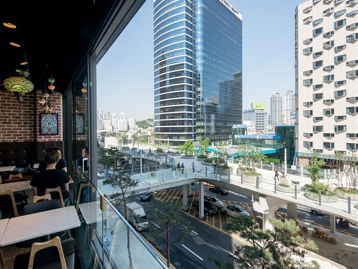 Seoul Skygarden by MVRDV - View from innside