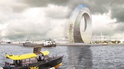 Dutch Windwheel – Green Lighthouse Project and Tourist Attraction in One Building