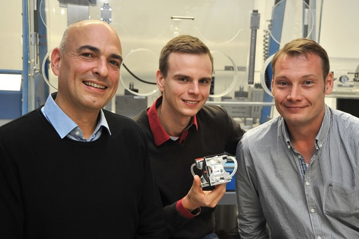 EWE's world's largest battery is a special redox flow battery developed with the University of Jena