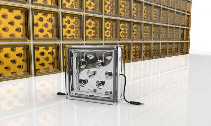 Energy Generating Glass Bricks on ECOURBANHUB - University Exeter