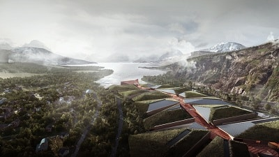 60 Hectares Norwegian Data Center in Eternal Ice and 100% Renewable