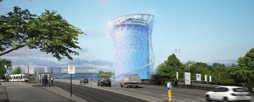energy storage in Heidelberg-rendering-road-view