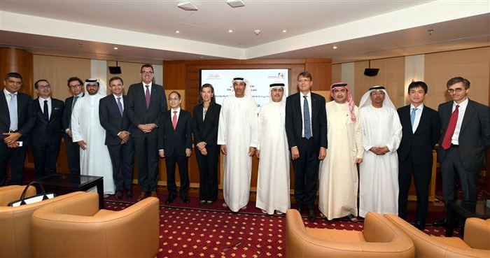 Dubai's waste-to-energy plant - Group picture of people involved