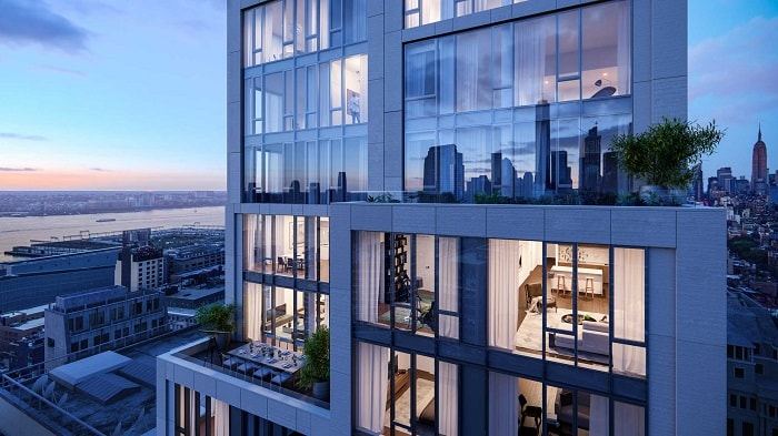 570 Broom in New York City from Buildt