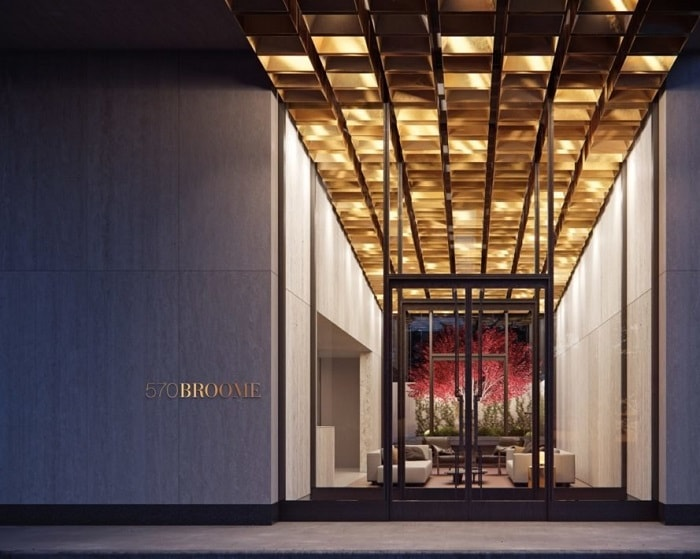 570 Broome Entry in New York City - Buildt - Neolith