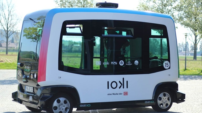 Autonomous bus service in Germany ioki from Deutsche Bahn AG