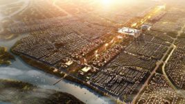 City from the scratch - Amaravati from a birds eye - Foster and Partners in India