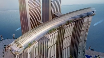 Horizontal Skyscraper in China Open to The Public Next Year