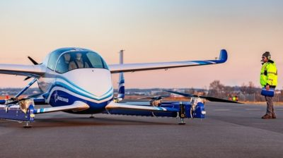 Boeing Autonomous Passenger Air Vehicle First Flight - Next program