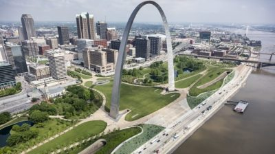 Leed Gold for Gateway Arch Museum in St. Louis Usa