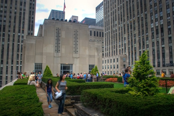Green Roofs in New York City Mandatory Due to Climate Mobilization Act - Rockefeller building
