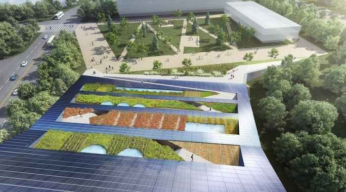 Roof of Canada's First Net-Zero Vertical Farm Planned in Toronto - Scarborough Centennial