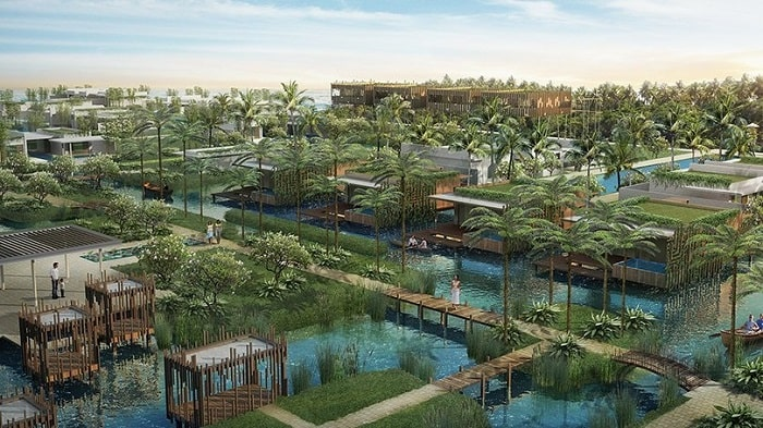 Adira Resort designed by Urbnarc in Vembanad India inspired by Kerala