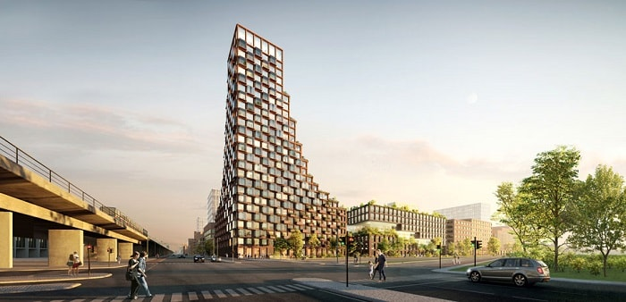 Danish architecture firms Lendager Group and TREDJE NATUR - CPH Common House in Copenhagen