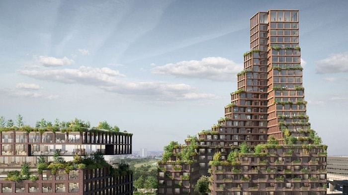 Danish architecture firms Lendager Group and TREDJE NATUR - CPH Common House