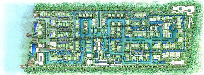 Mapped Adira Resort designed by Urbnarc in Vembanad India inspired by Kerala