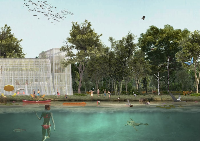 OMA and Laboratorio Permanente won Agenti Climatici - Concorso Farini competition - water