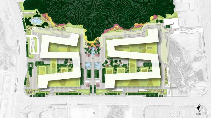 Topview Medical City For Healing - XiangYa Hospital in China desifned by Payette