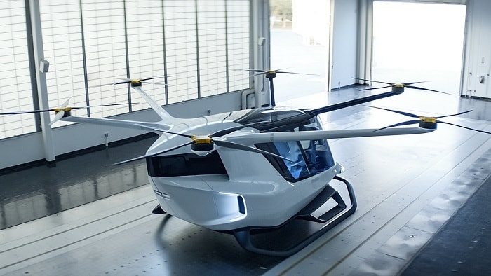 Alakai Technologies Corporation presents Skai - hydrogen fuel cell powered air mobility (eVTOL)