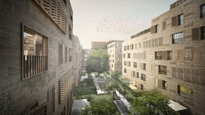 Avciarchitects-Saudi Arabia - Al Khobar Mixed Use backyard