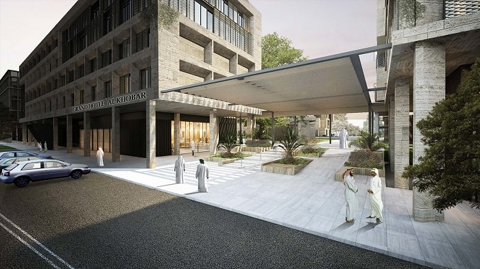 Avciarchitects-Saudi Arabia - Al Khobar Mixed Use walkway
