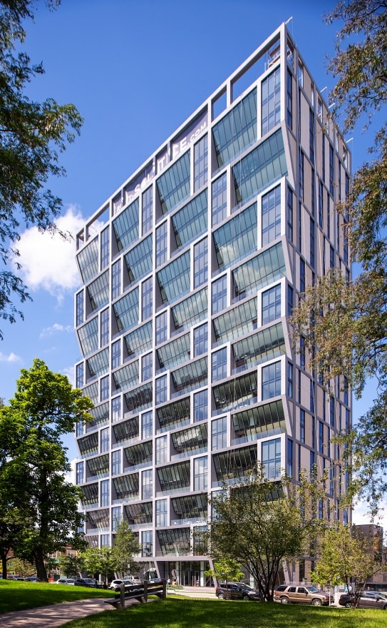 Solistic Tower in Solstice on the Park by Studio Gang