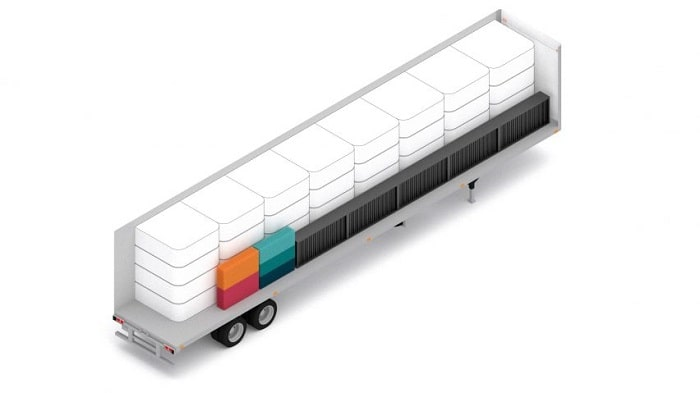 Dome Sleep Pod from Perkins&Will - transportation foot trailer